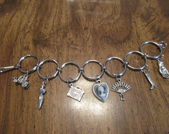 Old Fashion Style Charm Bracelet