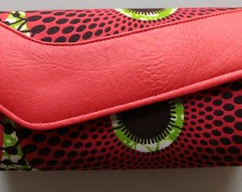 African Print Purse, purse, Print purse, clutchbag, bridesmaid clutch, large clutch
