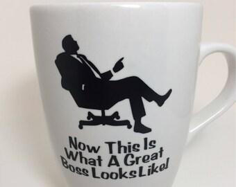 Great Boss Mug, Boss Mug, Great Boss Coffee Mug, Gift For Boss, Coffee Mug