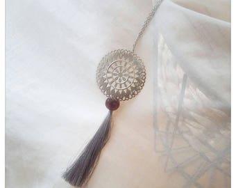 Eternal Rose Boho necklace
