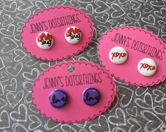 "Custom Valentines ""Dots"""