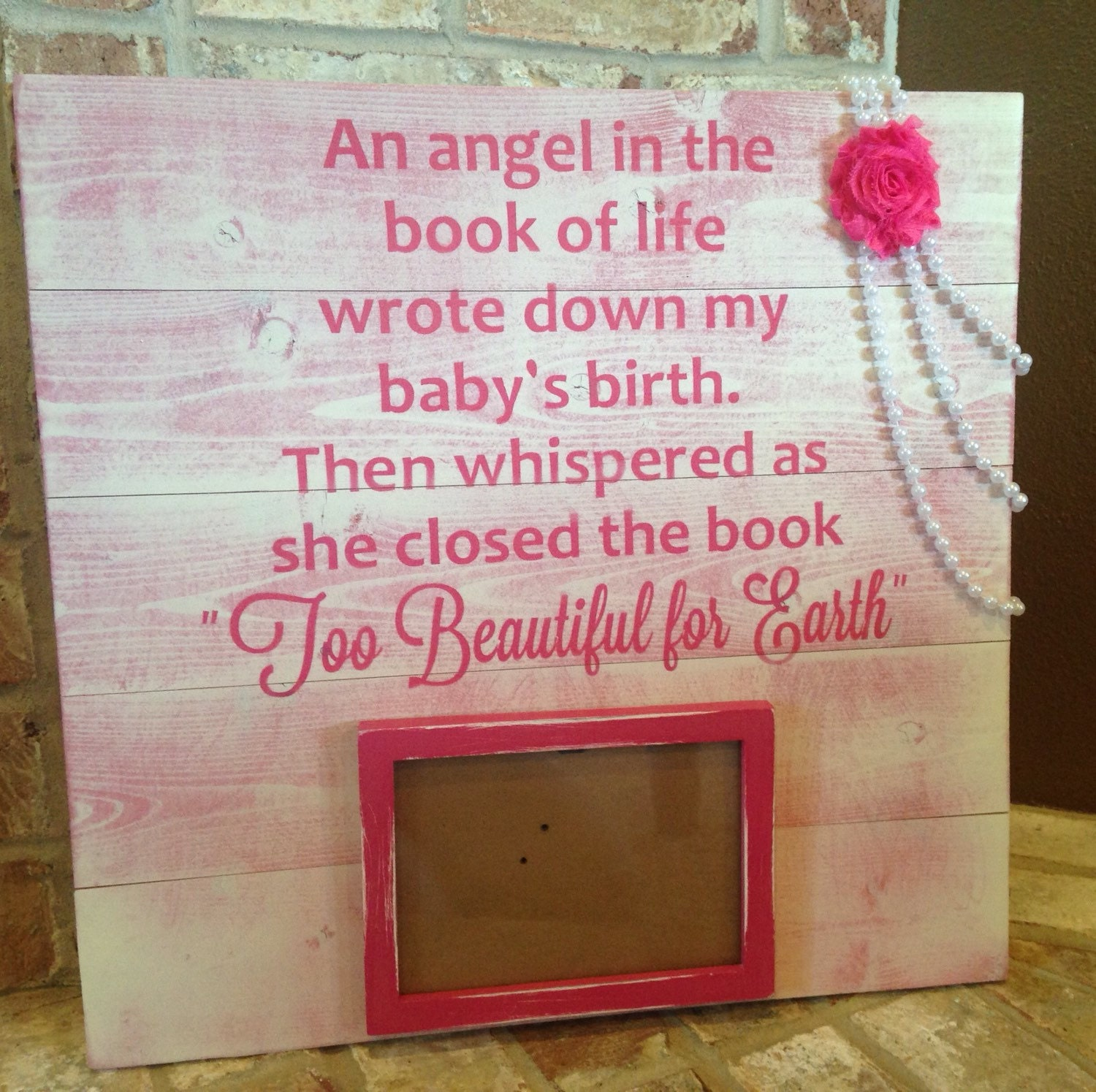 Death Of Child Memorial Sign Book Of Life Sign Infant Loss
