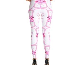 Crystal Pink -Leggings