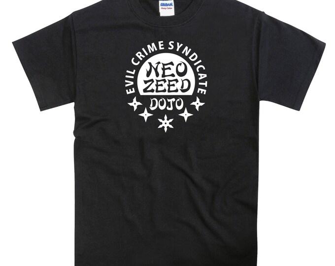 Neo Zeed Revenge Of Shinobi Inspired Mega Drive Tshirt
