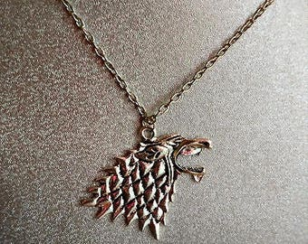 direwolf 24 inch necklace