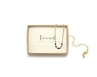 FRIEND || Morse Code Necklace, Friend Gift, Friendship Necklace, Friend Necklace, Friend Birthday, Friend Jewelry, Friendship Jewelry, BFF