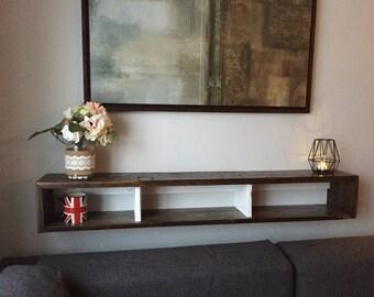 Floating Shelf, Rustic Shelf, Hanging Shelf, Reclaimed Shelf