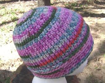 Crochet Hat  Beanie Skullcap Men Women Teen
