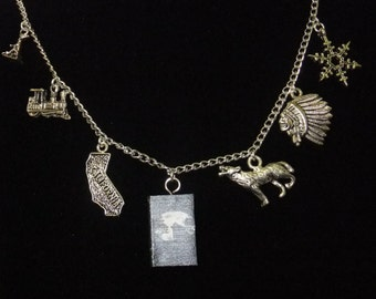 The Call of the Wild Book Necklace - Great Gift for Book Lovers!
