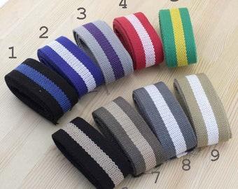 color 1 meter of lace 3.8 cm bi cotton strap for shoulder bag