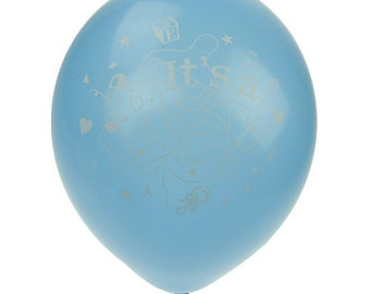 Its A Boy Its A Girl Latex Balloons, 12-Inch, 12-Piece- CLOSEOUT