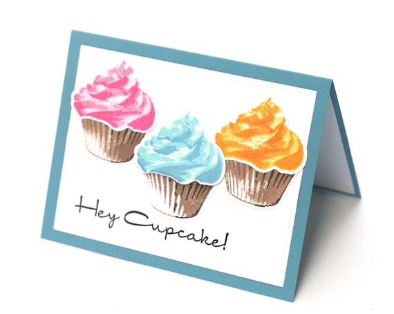 Hey Cupcake Birthday Card Sweet Treats Happy Birthday Wishes