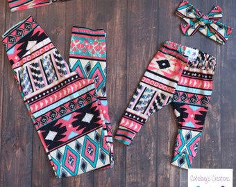 Add on: matching headbands for mommy & me leggings