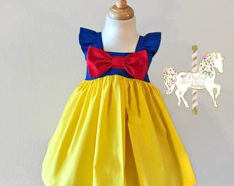 Snow White Dress | Snow White Birthday Party | Snow White | Girl Snow White Dress | Toddler Snow White Dress | Snow White Costume | Princess