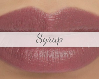 "Sample Vegan Lip & Cheek Cream - ""Syrup"" (grayed beige mauve lipstick / cream blush)"