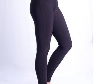 Winter women  leggins from microfibre  0746