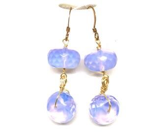 Lavender Opalite Earrings