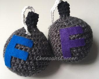 F Bombs, Crocheted F Bombs