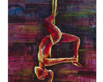 Silk Suspension (8 x 10) Connect With Yoga Series