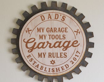Garage Sign Etsy