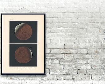 Lunar Eclipse 1877 Fine Art Print