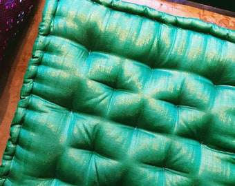 Shimmery Meditation Cushions