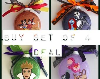 BUY SET of 4 DEAL! Ornaments