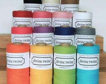 SALE Divine Twine Choose Color 240 yds NEW