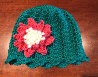 Child's Lily Pad Cloche Hat