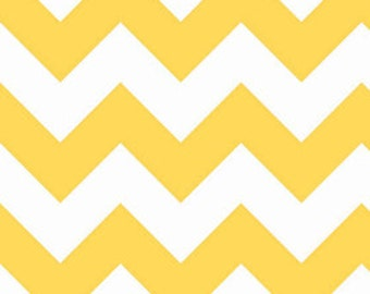 1 yard of Large Yellow Chevron by Riley Blake