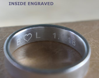 Professional Inside Rings Engraving for Rings Set, Inside ring engraving. Engraved Rings, Inside Engraved Ring. Engraved Wedding Rings