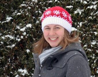 Snowlake Hat | Crochet Pattern