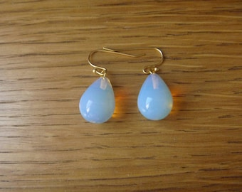 raindrop opalite: Earrings