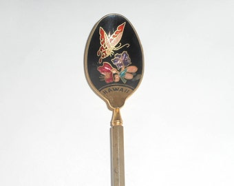 Cloisonne Collectible Spoon - Hawaii