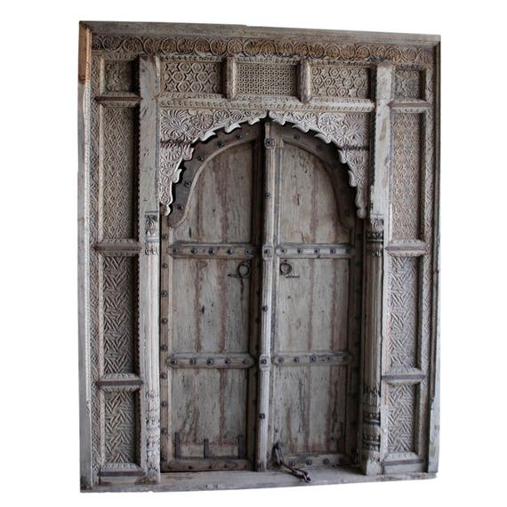 Like this item?  sc 1 st  Etsy & 18th Century Carved Maharajah Entrance Door Imposing Indian