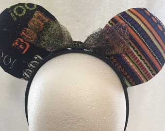 Boo To You - Custom Mickey Ears