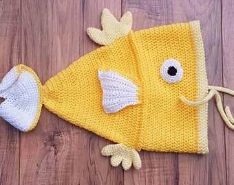 Shiny Flappy fish hat