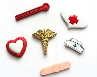Nurse Magnets, Nursing Themed Magnets, Medical Themed Magnets, Medicine, Doctor Magnets, Medical Professional Gift, Kitchen Decor, Office