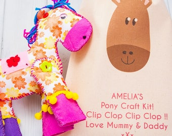 Personalised Pony Craft Kit