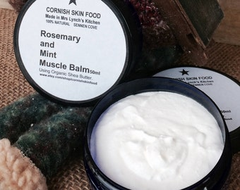 Rosemary and Mint Muscle Balm 50ml