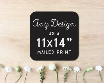 11 x 14 Mailed Print // Hewitt Avenue
