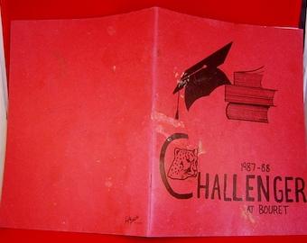 Book Challenger Elementary School Year Book 1987 Album