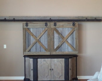 Superbe TV Cover Barn Doors, Entertainment Center Cover