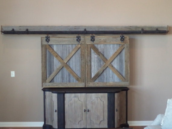 Like this item? & TV Cover Barn Doors Entertainment Center Cover