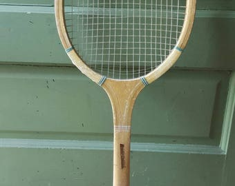 Vintage Andy Hardy wooden tennis racquet