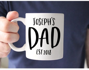 Father's Day Mug, Custom Dad Gift, Father's Day, Custom Dad Mug, Dad Mug, Gift for Dad, New Dad, Husband Gift, Personalized Dad Gift