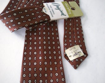 60s Gentry necktie with tags