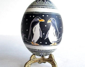 You are my penguin etsy you are my penguin ukrainian easter egg pysanka negle Image collections
