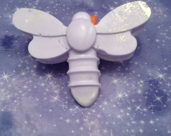 Purple and White butterfly Soap