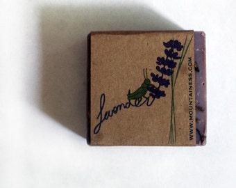 organic lavender soap / brazilian clay soap / clay detox soap french lavender / acne soap / lavender purple / lavendersoap